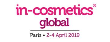 In Cosmetics Paris 2-4 avril 2019